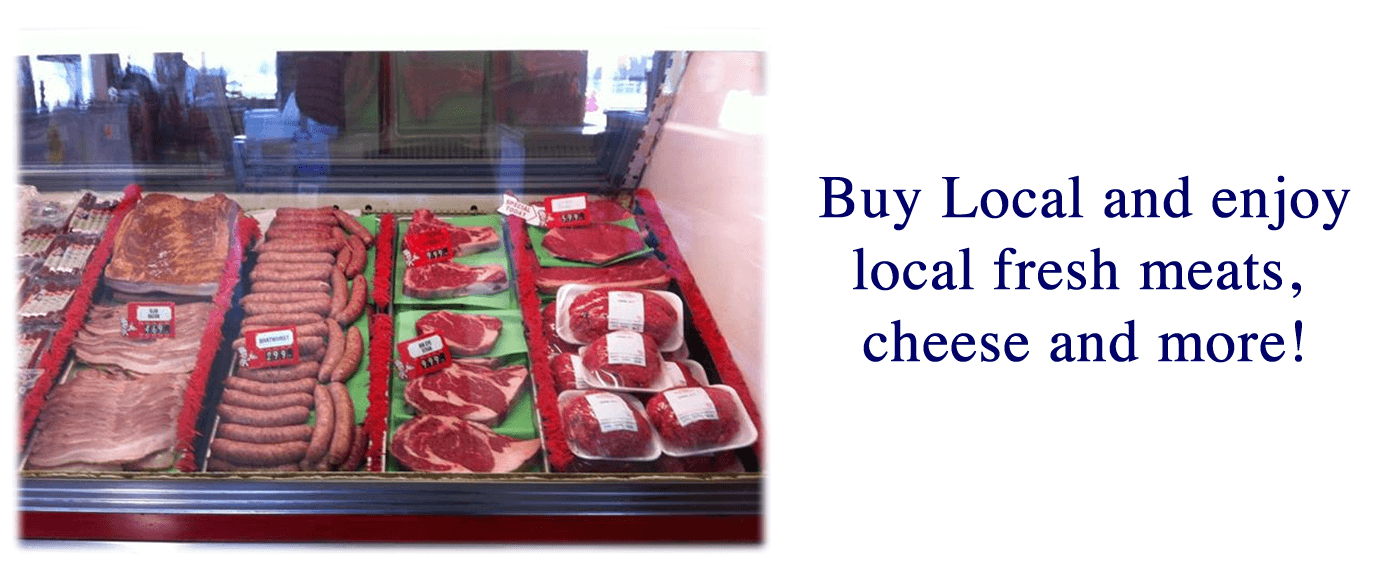 Meat Display - almena meat company