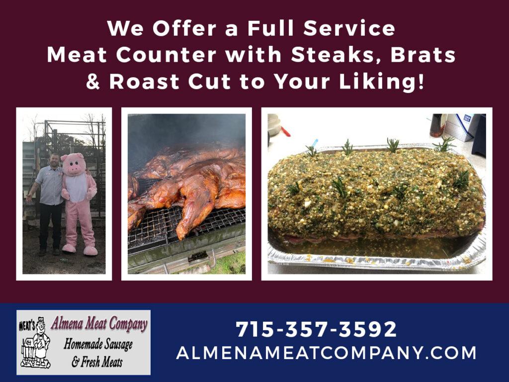 Almena Promotional Post - almena meat company